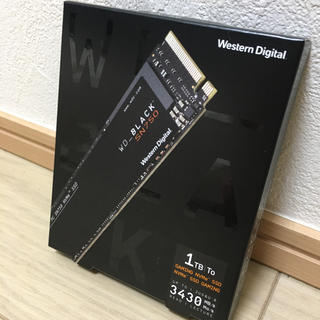 WESTERN DIGITAL WD Black SN750 NVMe 1tb