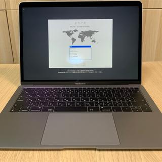 Apple - 【美品】MacBook Air Retina 13 スペースグレイ 2018