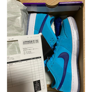 ナイキ(NIKE)の27cm Nike sb dunk low blue fury(スニーカー)