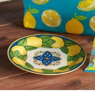 カルディ(KALDI)のカルディ レモン陶器皿(食器)