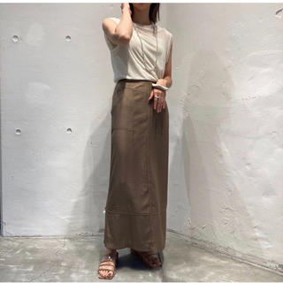 TODAYFUL - Todayful Satin Piping Skirt/ OLV 38