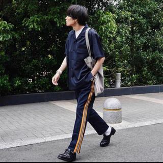 SUNSEA - YOKE KNIT LINE TRACK PANTS yoke tokyo