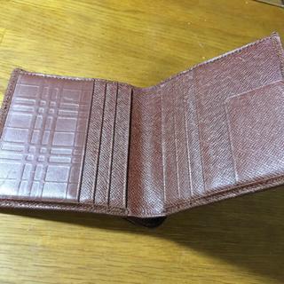 バーバリー(BURBERRY)のバーバリー札入れ 二つ折り メンズ(折り財布)