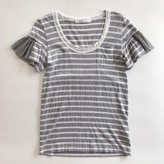 サカイラック(sacai luck)のsacai luck フリルTシャツ(Tシャツ(半袖/袖なし))