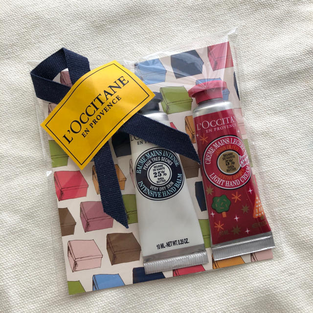 L'OCCITANE(ロクシタン)の【未開封】ロクシタン ミニハンドクリームセット コスメ/美容のボディケア(ハンドクリーム)の商品写真