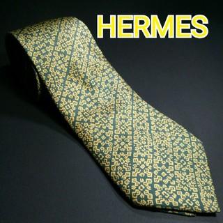 エルメス(Hermes)のHERMES 総柄 ネクタイ(ネクタイ)