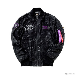 ALPHA INDUSTRIES - STRICT-G×ALPHA INDUSTRIES 黒い三連星 MA-1