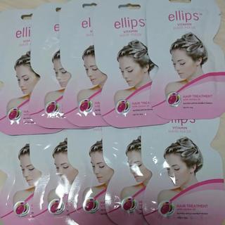 ellips - ellips エリップス ヘアマスク ピンク 10セット