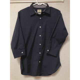 ビューティアンドユースユナイテッドアローズ(BEAUTY&YOUTH UNITED ARROWS)のユナイテッドアローズ ドットシャツ 5部丈(Tシャツ/カットソー(七分/長袖))
