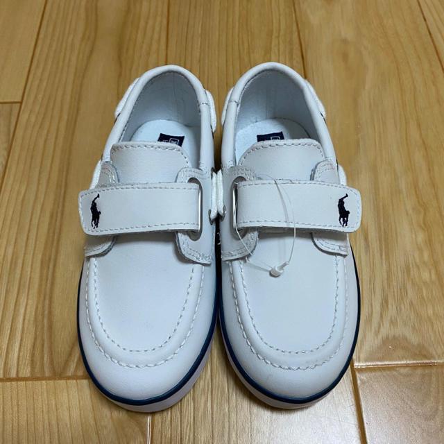 POLO RALPH LAUREN(ポロラルフローレン)の新品 ラルフローレン  スニーカー 15.0cm キッズ/ベビー/マタニティのキッズ靴/シューズ(15cm~)(スニーカー)の商品写真