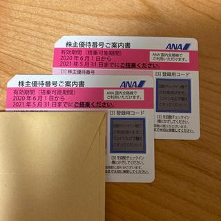 ANA(全日本空輸) - ANAの株主優待券2枚セット