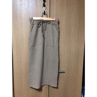 グレイル(GRL)の【GRL】ワッフルタイトスカート(ひざ丈スカート)
