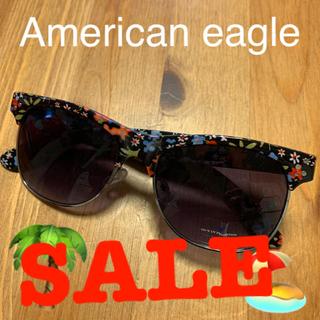 アメリカンイーグル(American Eagle)の新品!未使用品!サングラス⭐︎花柄ハーフ(サングラス/メガネ)