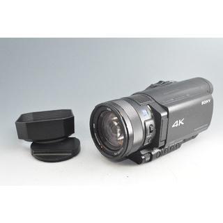 #2045 【美品】 ソニー SONY ビデオカメラ FDR-AX100 4K