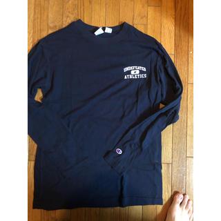 アンディフィーテッド(UNDEFEATED)のUNDEFEATED ATHLETICS CHAMPION L/S TEE(Tシャツ/カットソー(七分/長袖))