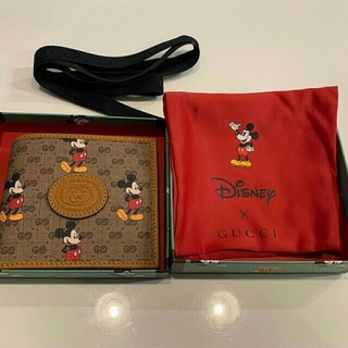 グッチ(Gucci)のGucci グッチ ミッキー 財布 二つ折り(折り財布)