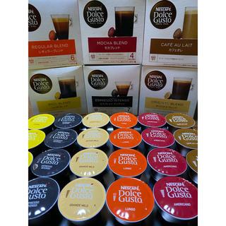 Nestle - 【Aセット】ドルチェグスト ブラック カフェオレ 6種類