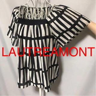 LAUTREAMONT - ★LAUTREAMONT/ロートレアモン★極美品★半袖カットソー2(M.9号)