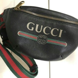 Gucci - 超美品!gucci グッチ ヴィンテージロゴ ウエストポーチ