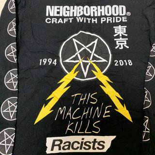 ネイバーフッド(NEIGHBORHOOD)のneighborhood  hrcs限定 ロンT  ブラック Mサイズ(Tシャツ/カットソー(七分/長袖))