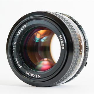Nikon - ニコン NIKON AI Nikkor 50mm f1.4 整備・清掃済み