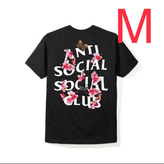 アンチ(ANTI)のASSC Kkoch Black Tee アンチソーシャル Tシャツ Mサイズ(Tシャツ/カットソー(半袖/袖なし))