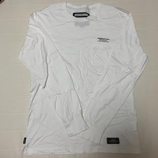 ネイバーフッド(NEIGHBORHOOD)のneighborhood  ロンT  ホワイト Mサイズ(Tシャツ/カットソー(七分/長袖))