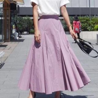 rienda - rienda ボリュームフレアロングスカート