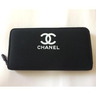 CHANEL - 新品 長財布/シャネル ブラック