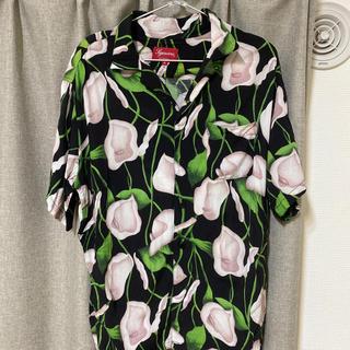 Supreme - supreme 18ss Lily Rayon Shirt