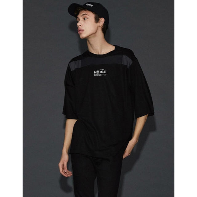 SHAREEF(シャリーフ)のshareef NOISE ラインBIG Tee メンズのトップス(Tシャツ/カットソー(半袖/袖なし))の商品写真