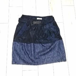 ブルネロクチネリ(BRUNELLO CUCINELLI)のGUNEX for BRUNELLO CUCINELL スカート 美品(ひざ丈スカート)