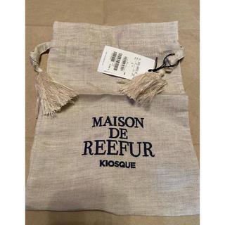 Maison de Reefur - 新品 メゾンドリーファー リネン巾着