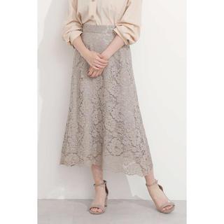 PROPORTION BODY DRESSING - PROPORTION 今期 コードレースフレアスカート