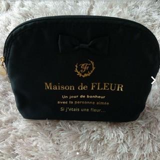 Maison de FLEUR - 新品未使用 メゾンドフルール ラウンドポーチ
