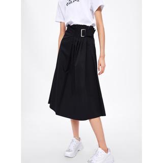 ZARA - SALE ✧新品✧ ZARA バックル付きスカート