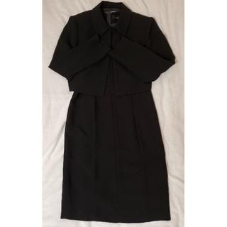 ソワール(SOIR)の美品 SOIR BENIR 東京ソワール ブラックフォーマル スーツ 9号(礼服/喪服)