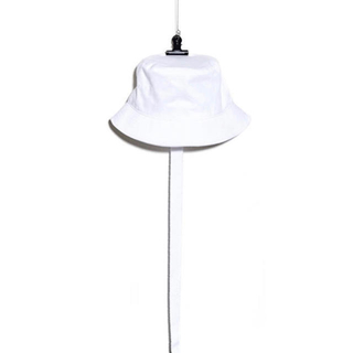 PEACEMINUSONE - PMO COTTON BUCKET HAT #2 WHITE