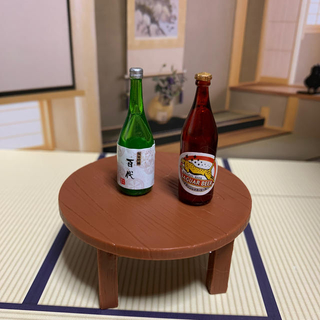 ⭐︎期間限定SALE⭐︎リーメント ミニチュアちゃぶ台でお酒