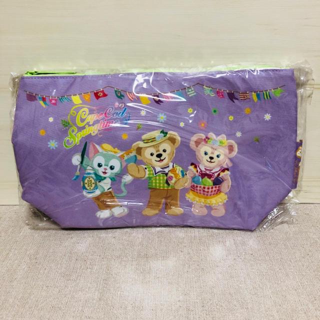 ダッフィー(ダッフィー)のダッフィー&フレンズ スーベニア ランチバッグ エンタメ/ホビーのおもちゃ/ぬいぐるみ(キャラクターグッズ)の商品写真