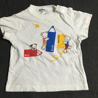 familiar - ファミリア Tシャツ 90 ファミちゃん 男女兼用