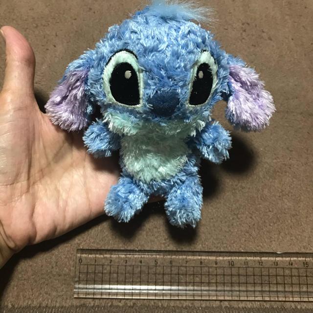 Disney(ディズニー)のスティッチのぬいぐるみストラップ エンタメ/ホビーのおもちゃ/ぬいぐるみ(キャラクターグッズ)の商品写真