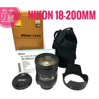 ニコン(Nikon)の✨美品✨NIKON AF-S DX 18-200mm f/3.5-5.6 VR(レンズ(ズーム))
