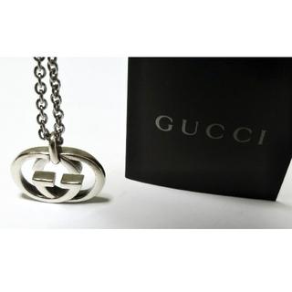Gucci - GUCCI/グッチ インターロッキングG GGモチーフ ネックレス/ペンダント