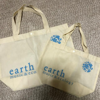 アースミュージックアンドエコロジー(earth music & ecology)のearth music&ecology ショップバック(エコバッグ)(ショップ袋)