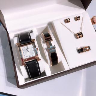 Hermes - レディース HERMES 腕時計 5点セット