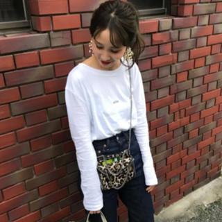 TODAYFUL - mite 刺繍ロゴlong tee