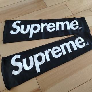 シュプリーム(Supreme)のsupreme アームスリーブ 黒 ブラック ほぼ未使用(バスケットボール)