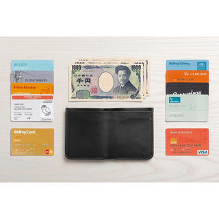 bellroy High Line wallet JAVA(茶色)(折り財布)
