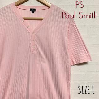 Paul Smith - PS Paul Smith ポールスミス 半袖 ヘンリーネック Tシャツ L